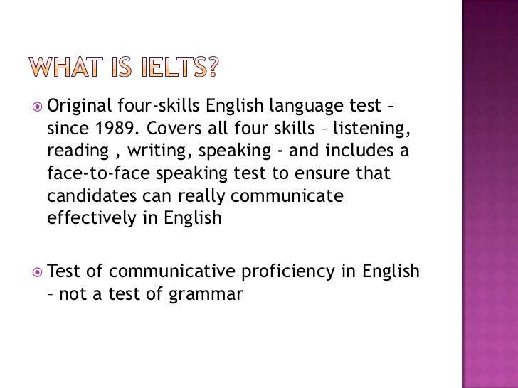 IELTS Teaching Workshop: Introduction To IELTS Slide 3