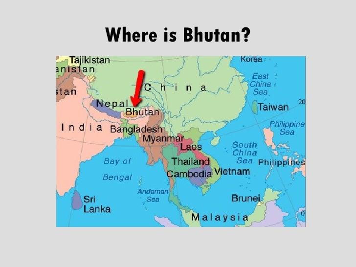 Teach In Bhutan - Where is bhutan