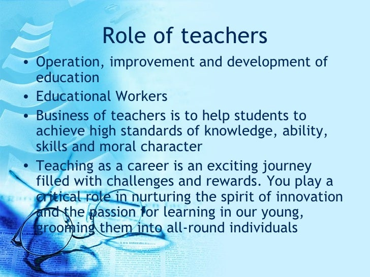Foundations of Education and Instructional Assessment/Educator as a Professional/Profession