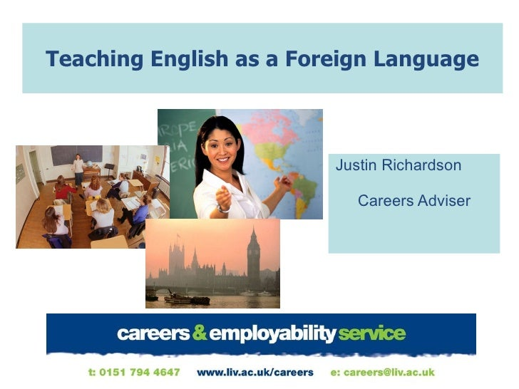 teaching english as a foreign language essay English language teaching and ict by bandele adeboye sogbesan senior lecturer in english, dept of languages, tai solarin university of education, ijebu ode introduction language has been described by various scholars over the years according to the perceived roles it plays.
