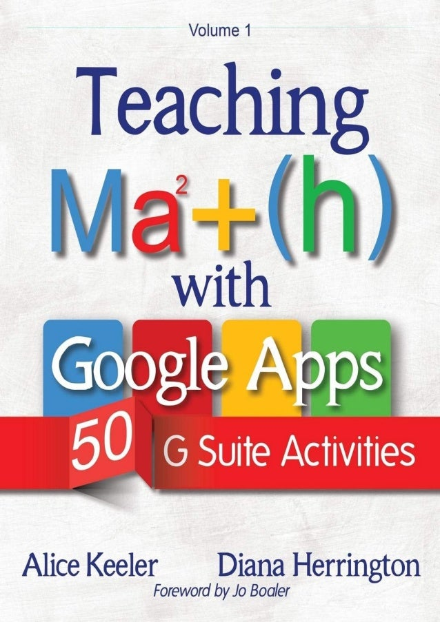 [PDF BOOK] Teaching Math with Google Apps: 50 G Suite Activities download PDF ,read [PDF BOOK] Teaching Math with Google A...