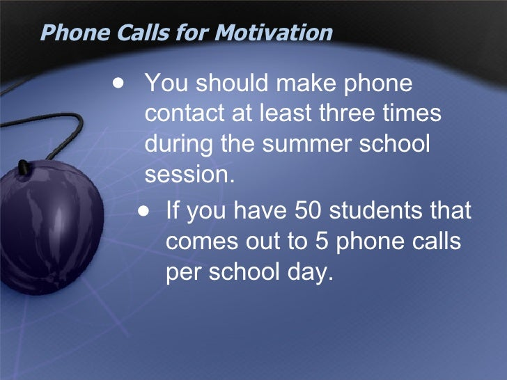 motivation should come first from a students parents For some of the students this may make students think of english as more than just another subject and more as a tool to help them achieve their future goals these are just a few ideas of how to keep motivation levels up.