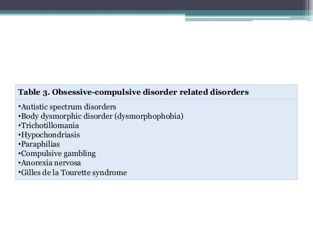 obsessive compulsive disorder according to transactional Start studying chapter 5 - anxiety, obsessive-compulsive, and related disorders learn vocabulary, terms, and more with flashcards, games, and other study tools.
