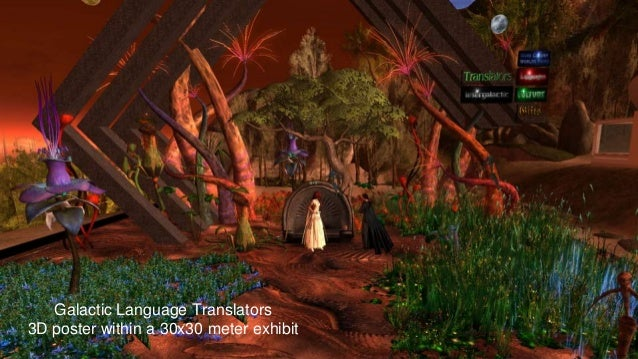 Teaching and interacting in virtual worlds