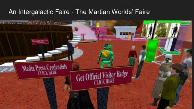 An Intergalactic Faire - The Martian Worlds' Faire