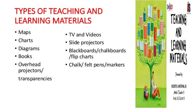 what is teaching and learning materials pdf