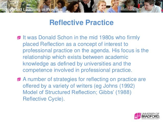 johns model of structured reflection