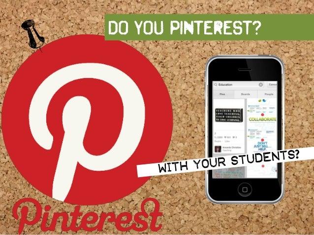 Do you pinterest?