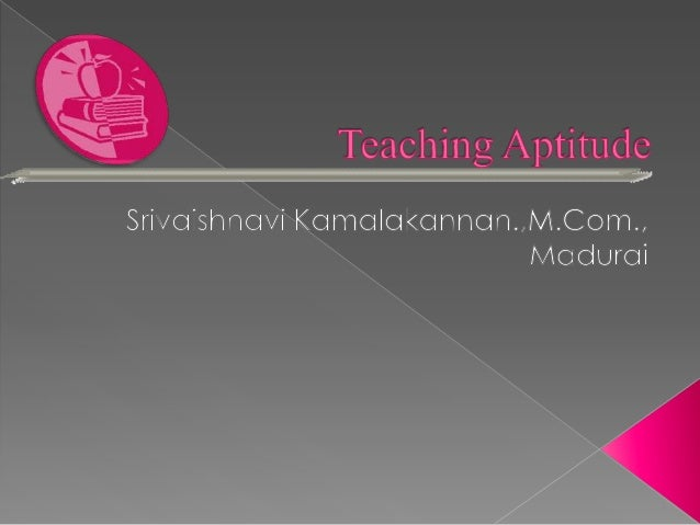 Ugc net general paper on teaching and research aptitude