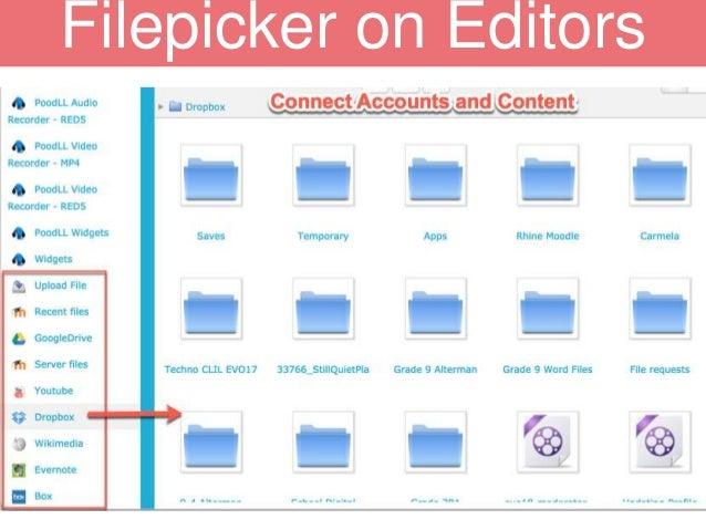 Filepicker on Editors