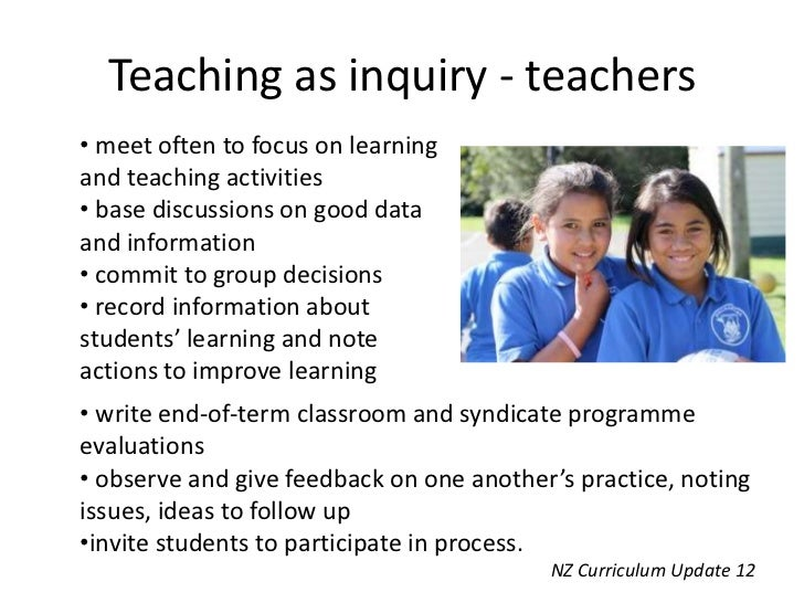 teaching inquiry Transitioning from scientific inquiry to three-dimensional teaching and learning list of position statements introduction for decades, scientific inquiry has played a central role in high-quality science teaching and learning.