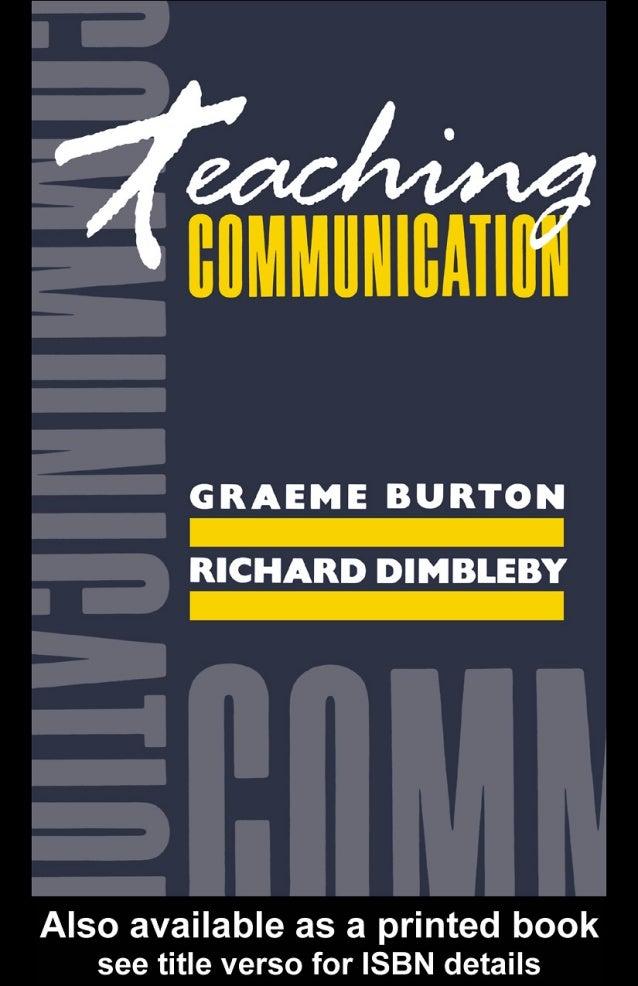 Teaching Communication