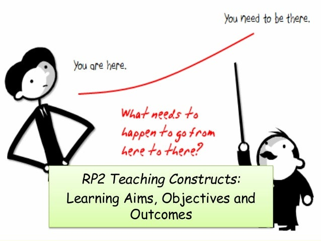 RP2 Teaching Constructs: Learning Aims, Objectives and Outcomes
