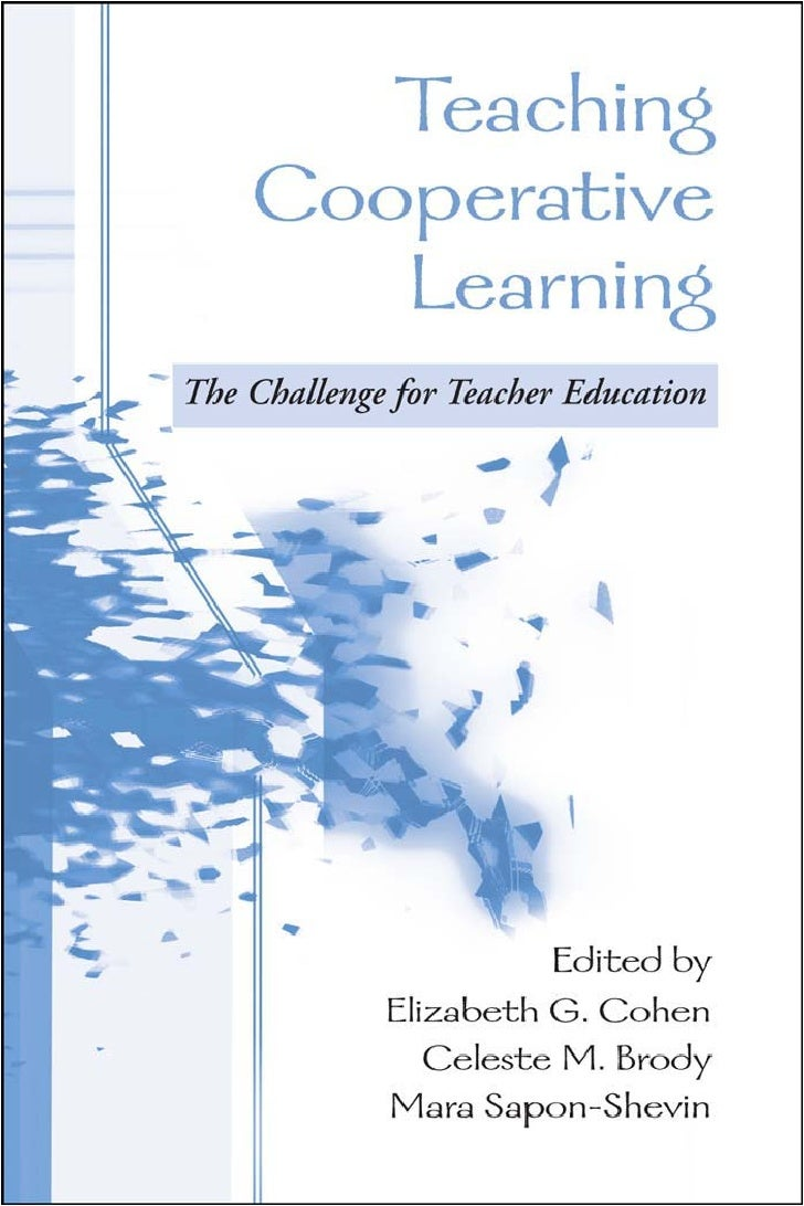cooperative learning and teaching Learn how to encourage student engagement by incorporating discussion, active learning techniques, collaborative work, problem-based learning and more.