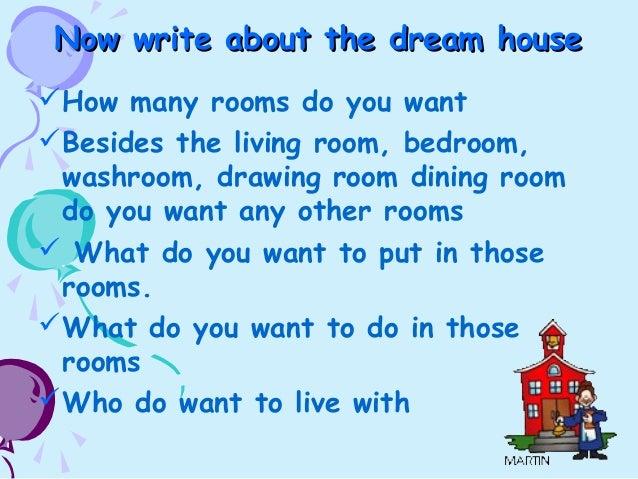 house description essay