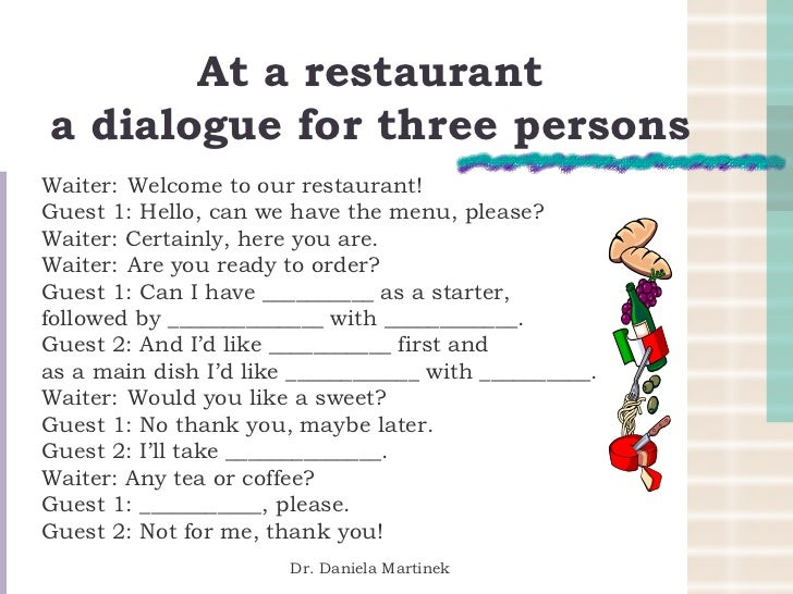 Waiter Welcome Guest In Restaurant How | just b.CAUSE