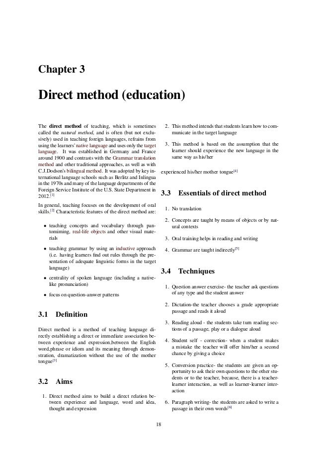 intimidation should not be used as a teaching method The collaborative testing method helps students experience arthur w and gamson, zelda f (1987) seven principles for good teaching.