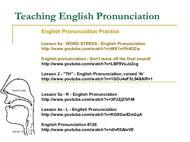 Thesis pronunciation british english