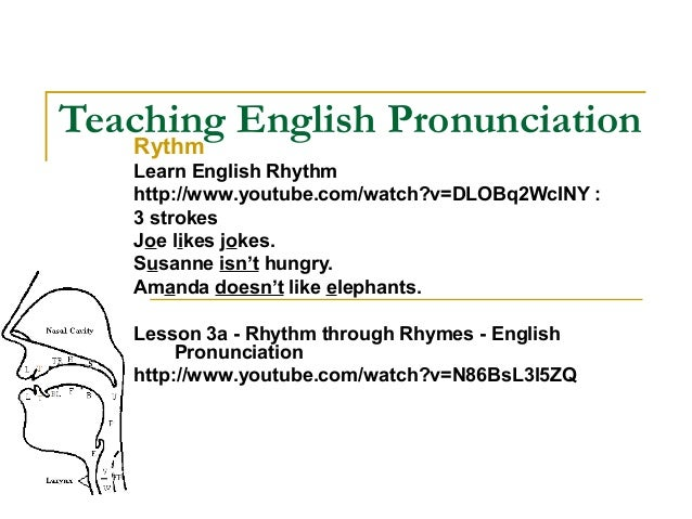 essay on the teaching of english pronunciation Lesson plan teaching english pronunciation keeping the pronunciations of your life in english in your autobiography keeps the lesson interested and prevents them.