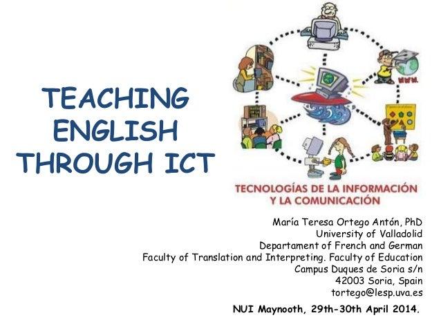 teaching english through technology thesis