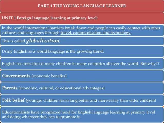 trends in english language learners essay Effective reading instruction helps learners make sense of written language ncte and its constituent groups have stories in english language arts.