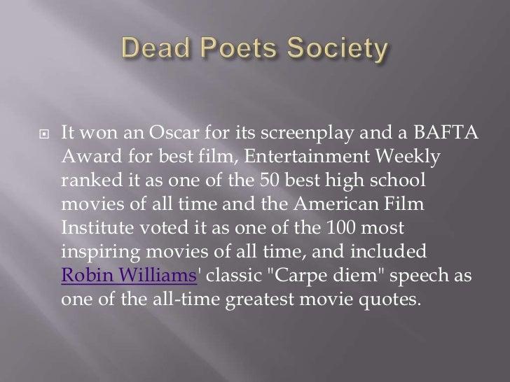 dead poets society carpe diem speech