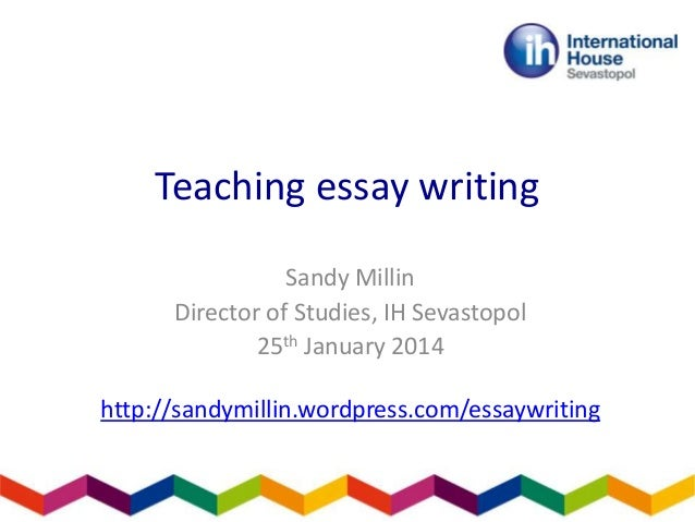 Education essay writing