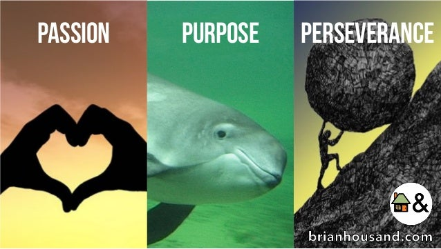 PASSION PURPOSE Perseverance brianhousand.com