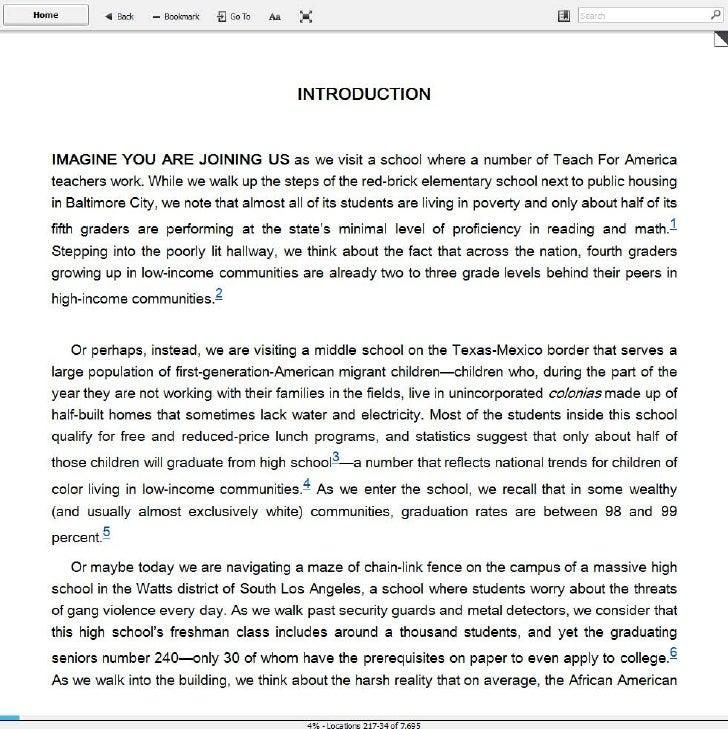 Teaching As Leadership (introduction)