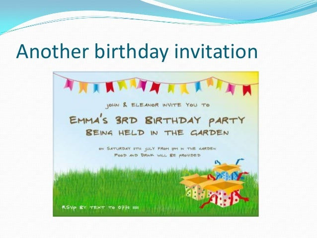 Functional text invitation and short message invitation 2 4 another birthday filmwisefo