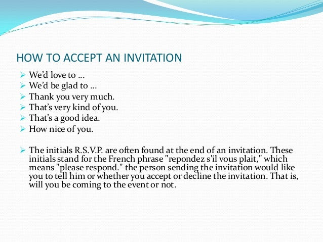 Functional text invitation and short message how to accept an invitation filmwisefo