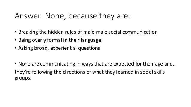 why do guys not communicate