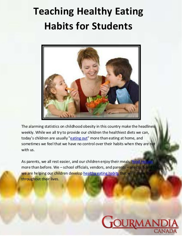 breakfast eating habit a statisical research project essay 379 school and health 21, 2010, health education: international experiences research into the effect of advertising on the eating habits of children jana fialovÁ abstract: this paper is devoted to the effect of advertising on the eating habits of.