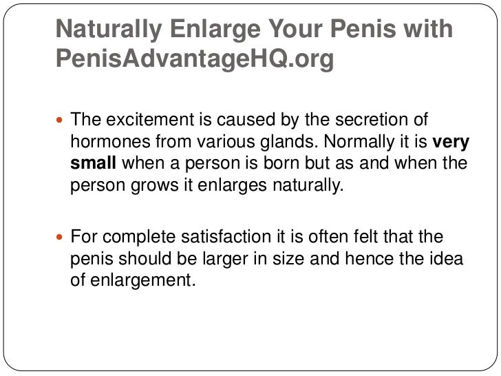 All enlarge cock to your that