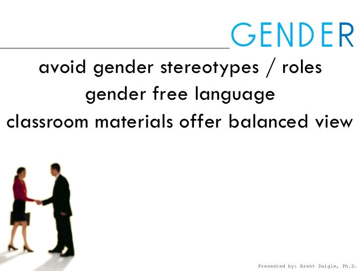 gender roles in language acquisition Gender and english language learners student voices examines the role of gender in learning environments and classroom interactions from the student's perspective.