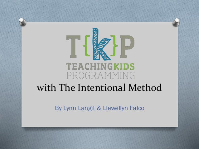 with The Intentional Method By Lynn Langit & Llewellyn Falco