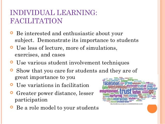 Excellence in Teaching learning process Slide 10