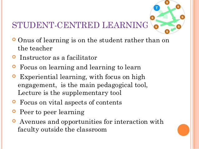 Excellence in Teaching learning process Slide 7