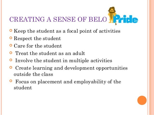 Excellence in Teaching learning process Slide 9
