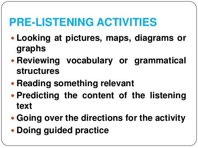teaching lisening strategies