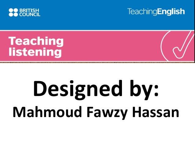Designed by:  Mahmoud Fawzy Hassan