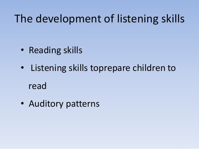 Teaching listening to young learners