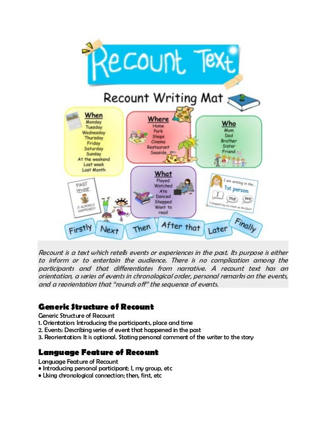recounting past experience essay Seven ideas to inspire and improve personal essays video  we went out to  the house last month to celebrate valentine's day but then the house  recount  an incident or time when you experienced failure how did it.