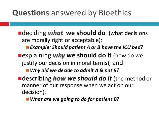 medical ethical dilemma topics