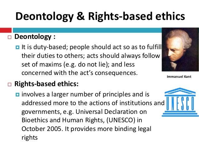 Duty-based ethics