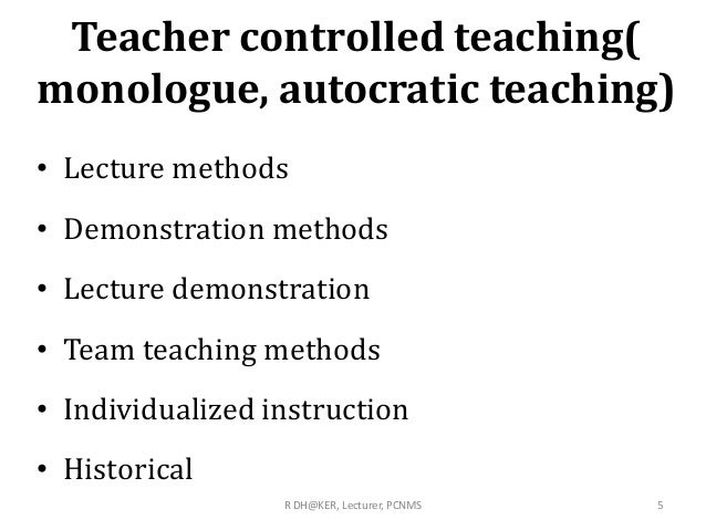 Teaching method     ppt