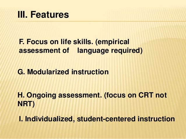 advantages and disadvantages of individualized instruction