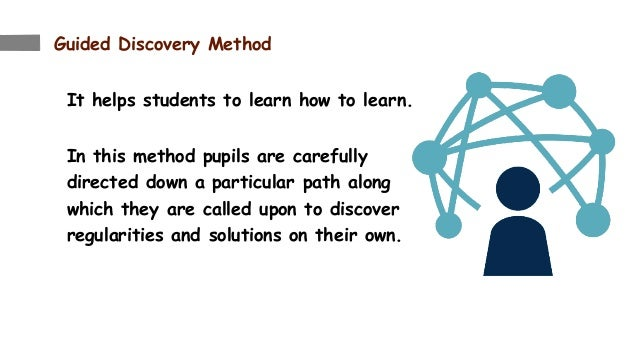 teaching mathematics through guided discovery Guided discovery method of teaching mathematics summary: discovery learning is a method of inquiry-based instruction, discovery learning believes that it is best for.
