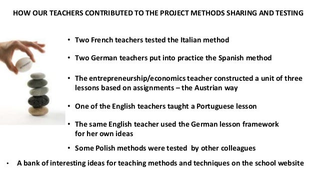 teaching methods and techniques employed by Steps of the direct or lecture method to employ the methodology in teaching  skill/s, follow these steps: a) provide the rationale,.