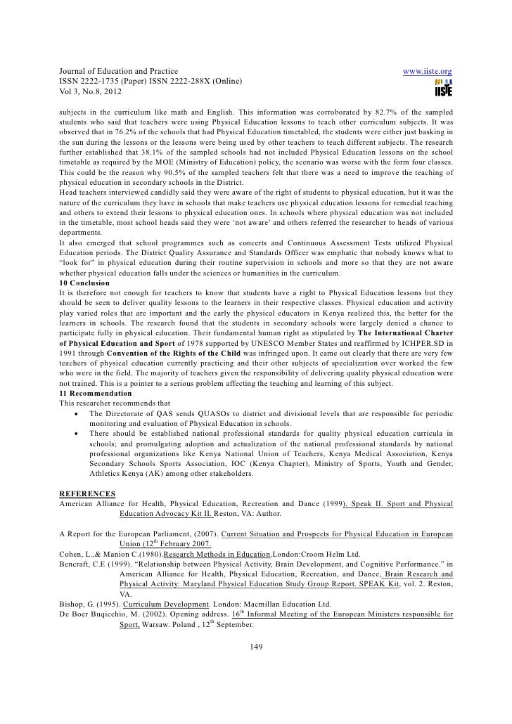 essay on physical development in early childhood